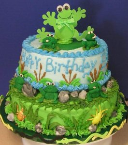 FrogBirthdayCake